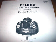 Scintilla DFN Magneto Parts Booklet