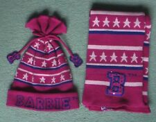 Barbie Scarf and hat