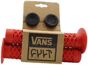 ODI Vans x Cult Flange BMX Grips Soft Waffle Design Long 150mm Length BMX Bike