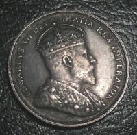 OLD CANADIAN COINS RARE 1902 H CANADA TWENTY FIVE CENTS FREE SHIPPING US AND CA
