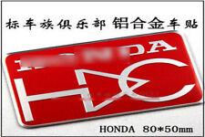 D237 Mugen HC Auto 3D Emblem emblème Badge Aufkleber PKW emblema Car Sticker