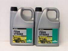 8,74€/l Motorex Four Stroke 15W-50 teilsyn Motoröl 2 x 4 Ltr