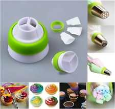 Russian Flower Cake Icing Piping Nozzles Decorating Tips Baking Tools Adapter US
