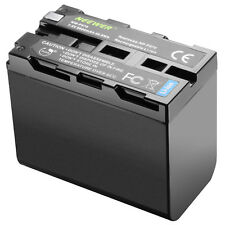 Neewer Batteria Litio 6600mAh Ricambio Sony NP-F970/570/770 per Luci LED Monitor