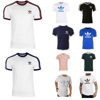 Adidas Originals t shirt Men's California Trefoil Crew Neck Short Sleeve M L New