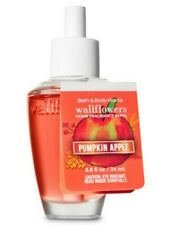 Bath & Body Works Pumpkin Apple Wallflowers Home Fragrance Refill Bulb Nwt
