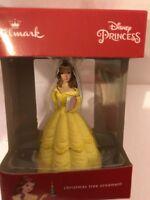 Hallmark Disney  Beauty And The Beast  Belle    Christmas Tree Ornament