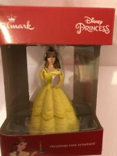 NEW HALLMARK  Disney  Beauty And The Beast  BELLE    Christmas Tree Ornament