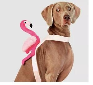 DOG COSTUME Pink FLAMINGO RIDER Holiday Pageant Dress Up Size XL NWT