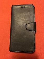 iPhone X-XR leather wallet case