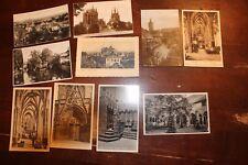 3100 Sammlung 10 AK Erfurt um 1925 Dom Häuser Villen