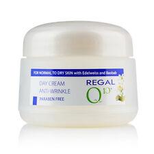 Crema de día antiarrugas con Baobab y Edelweiss piel normal a seca Regal Q10+