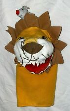 LION HAND PUPPET SOFT TOY 10 INCHES PLUSH VGC
