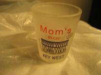 "SHOT GLASS MOM'S BAR KEY WEST FLORIDA EXTREME WHISKY WHISKEY VODKA liqueur 2"""