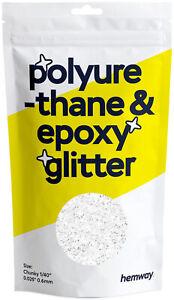 """Hemway Polyurethane & Epoxy Resin Glitter - Chunky 1/40"""" 0.025"""" 0.6mm (100g)"""