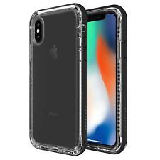 Lifeproof Next Clear Black Case Rugged Drop Dirt Snow Proof Cover iPhone X / Xs