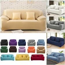 WarmsLiving Sofa Cover Solid Color Sofa Covers Spandex Universal Modern Elastic