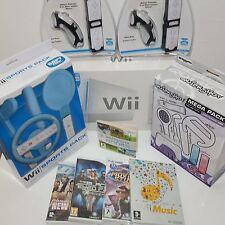 en boîte console Wii paquet débutant Paquet=2 Remotes + Super Mario sonic