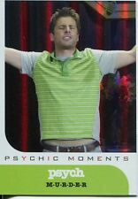 Psych Seasons 1-4 Psychic Moments Chase Card PM07 M-U-R-D-E-R