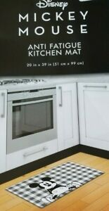 Disney Mickey Mouse Anti Fatigue Kitchen Mat NWT
