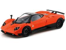 Motor Max 1/18 Scale Pagani Zonda F Orange Diecast Car Model 79159