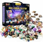 Rock Collection for Kids. Includes 250+ Gemstones, Crystals, Rocks and more