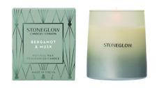 Stoneglow Bergamot & Musk Candle
