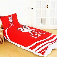 Club Licensed Liverpool Pulse Single Duvet Set 135 X 200cm Pillow Case 50 75cm