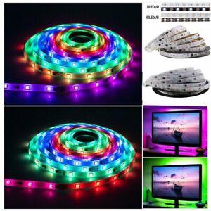 12V 5M WS2811 LED Strip Lights 5050 RGB 150/300 LEDs Dream Colour IC Addressable