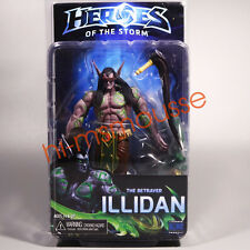 "NECA Illidan Heroes Of The Storm The Betrayer Blizzard Warcraft 7"" Action Figure"