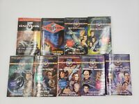 Babylon 5 Lot of 9 Paperback Books #2, 4, 5-9 & In the Beginning + Dark Genisis