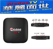 2018 Brand New MEDOO TV HTV 中港台電視高清網絡機頂盒 Internet Streaming TV Box TVPAD 英國本土保養