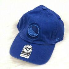 Golden State Warriors NBA Denim 47 Brand Adjustable Strapback Jean Dad Hat Cap