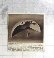 1954 Bullet-proof Infantry Helmet Made By Danish Technicians