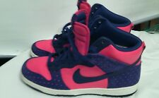 Nike High Tops Size 8.5 Men *Red&Blue* VGC