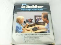 Sima Vintage Video Sound Mixer Video VHS Tape Audio Mixer Good Condition 1988