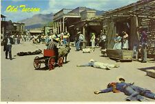 After The Gunfight at Old Tucson Arizona Postcard