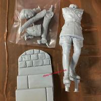 Male Officer 1/16 Unpainted Resin Model Kit Unassembled Garage Kit GK Figure New