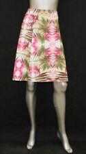Inc Womens Pink Paradise Print 5674 Pull on Scuba a Line Skirt Plus 3x