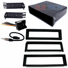Pocket Replacement Dash Mounting Kit 1-DIN w/Harness/Antenna for Volkswagen