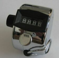 Hand Tally Counter silver Sports/Events/shows.  NIB