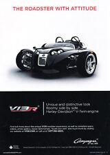 2013 Campagna V13R Roadster -   Classic Vintage Advertisement Car Ad J12