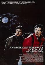 Pellicola stampare un lupo mannaro americano a Londra POSTER
