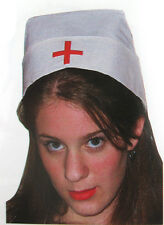 White Nurse Hat Cap Sexy Adult Costume Hat