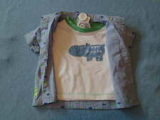Target  Little Boys 'Jungle Beat' Shirt and Tee Set, Size 0-3 Months - BNWT!