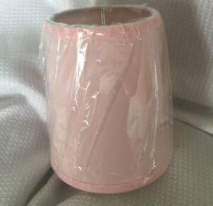 "Pottery Barn Kids Universal Shade 5"" diameter, 5.5"" high Blue Pink White NEW"