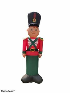 9.5' Holiday Time Toy Soldier Christmas Inflatable