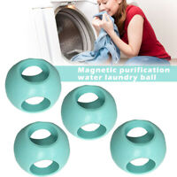 4 Pcs Magnetic Laundry Anti Limescale Ball Machine Ball Washing Accessories tool