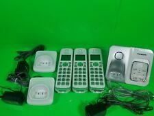 Panasonic Kx-Tgd530W Expandable Cordless Phone - White, 3 Handsets. (36)