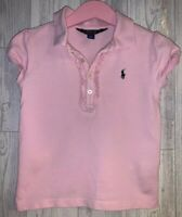 Girls Age 5 (4-5 Years) Polo Ralph Lauren Pink Polo Shirt